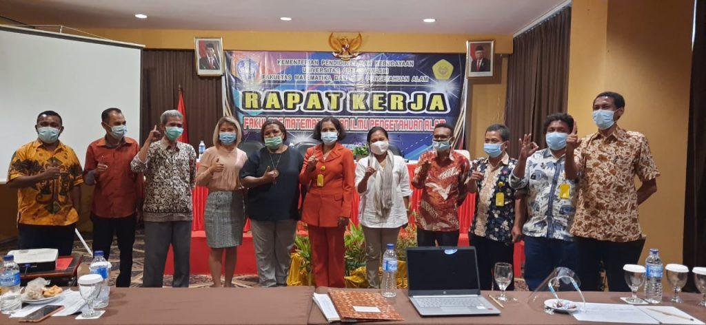 Rapat Kerja Fakultas MIPA Tahun 2021