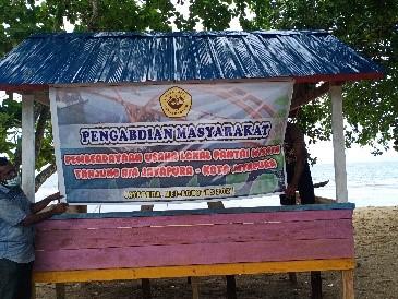 Pengabdian Pemberdayaan Usaha Lokal Pantai Wisata Tanjung Ria Jayapura